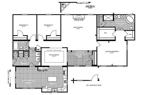 Clayton Mobile Home Floor Plans Photos by Manufactured Home Floor Plan 2005 Clayton Colony Bay