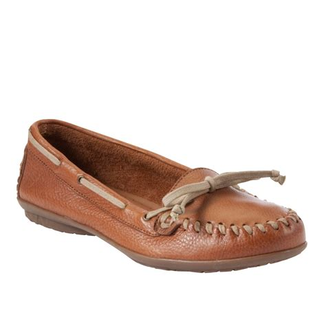 hush puppies 174 ceil moccasins in brown lyst