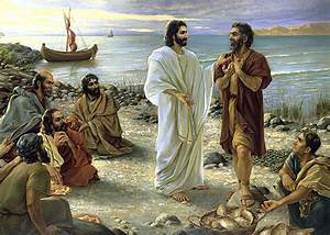 Jesus and Peter – The Herald