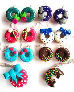 bijou fimo donuts