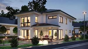Moderne Häuser Walmdach : bildergebnis f r stadtvilla rechteckig berdachte terrasse pinterest stadtvilla hausbau ~ Markanthonyermac.com Haus und Dekorationen