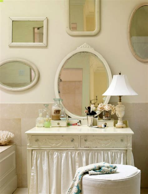 chinoiserie skirted vanity design ideas