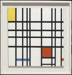 composition with yellow blue and piet mondrian tate