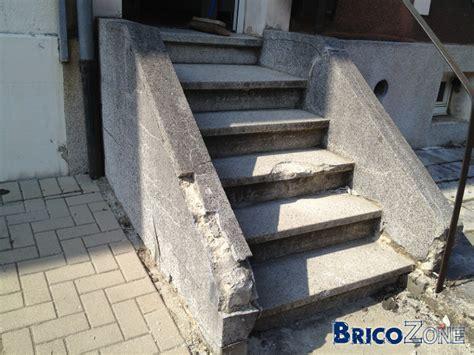 escalier ext 233 rieur qui tombe en ruine solution
