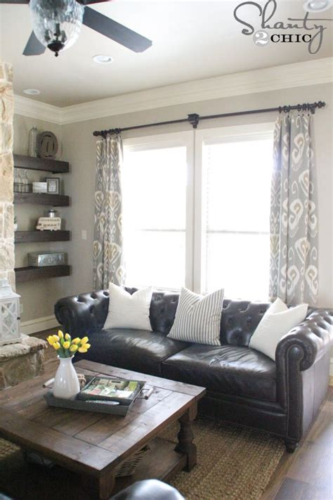 living room curtain ideas brown furniture diy lined window panels ash fireplaces and window panels
