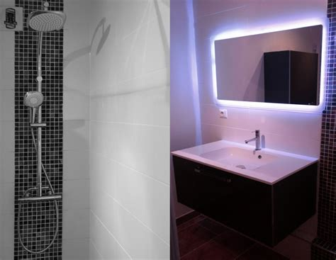 carrelage salle de bain avec mosaique ardoise salle de bain carrelage salle de bain