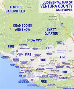 JUDGMENTAL MAPS: Ventura County, CA by Ben C. Copr. 2014 ...