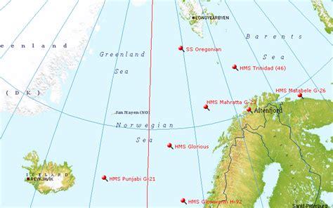 maritimequest santa rosa 1917 wreck map