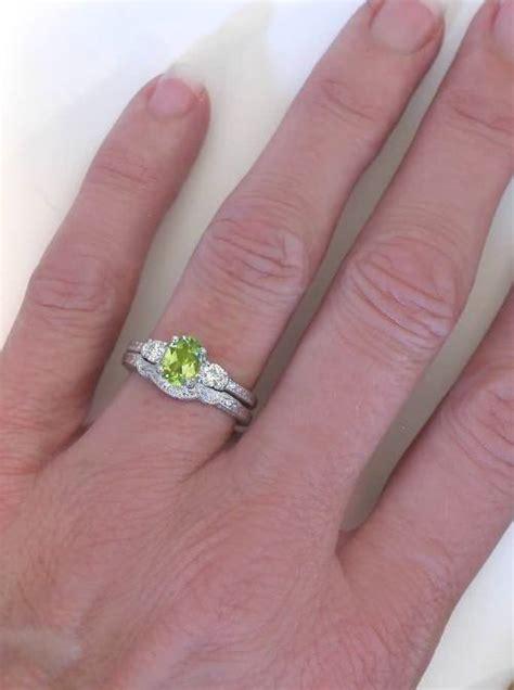 Peridot Diamond Engagement Ring In Vintage Three Stone. Pineapple Rings. Double Rings. Married Wedding Rings. Nail Polish Engagement Rings. Future Wedding Rings. Crafted Rings. Biker Rings. Paisley Wedding Rings