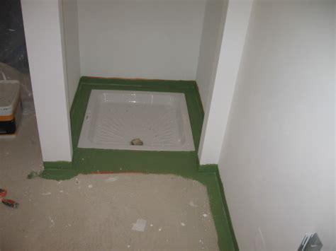 fin de la salle de bain autoconstruction maison basse energie 55