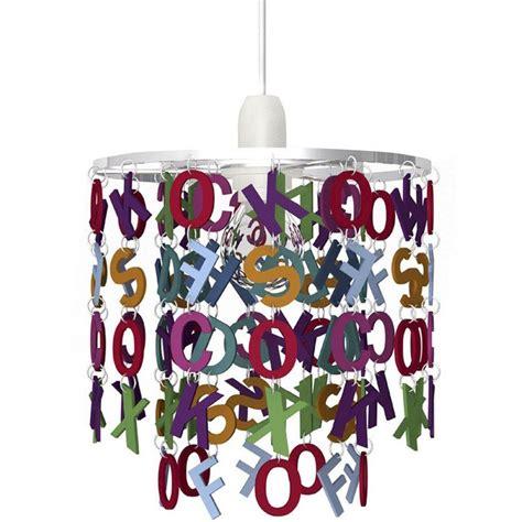 suspension enfant alphabet acrylique multicolore 1 x 40 w seynave leroy merlin
