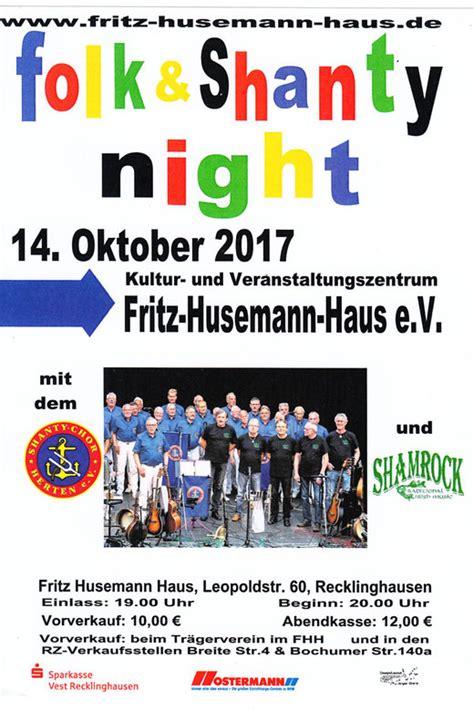 Veranstaltungen  Fritzhusemannhauss Webseite