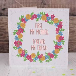 'forever my friend' mother's day card by kate dorothy ...