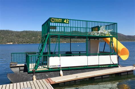 Pontoon Party Boat With Slide by Patoka Lake Area Cabins By Type Party Invitations Ideas