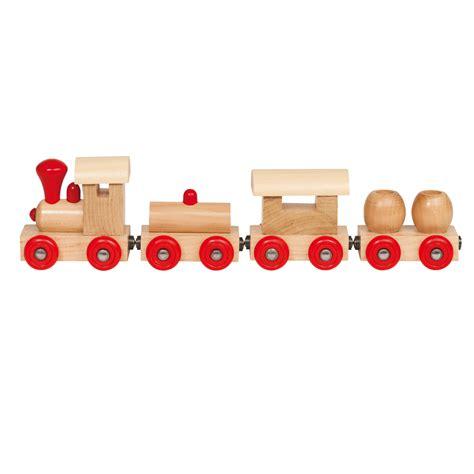 Speelgoed Ns Trein by Houten Trein Met Wagons Online Kopen Lobbes Nl