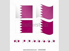 Set Vector Notched Background Templates Stock Vector