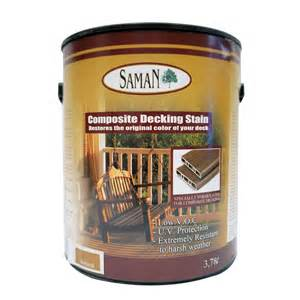 Lowes Canada Deck Cleaner by Saman Sam 351 4l Composite Deck Stain Lowe S Canada