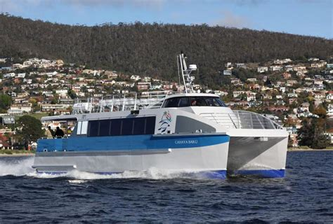 Catamaran Ferry Safety by Australia New Incat Crowther S Catamaran Ferry Launched