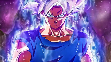Wallpaper Ultra Instinct Goku, Super Saiyan Silver Goku