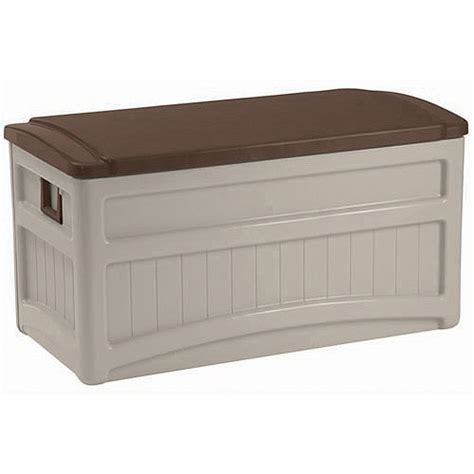 suncast 73 gallon deck box with wheels walmart