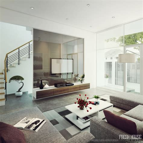 Lightfilled Contemporary Living Rooms