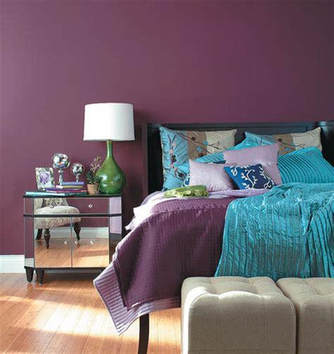 Bedroom Décor In Purple  My Decorative