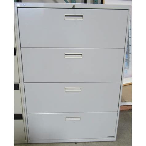 hon 4 drawer lateral file used storage used