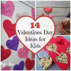 How to make a Valentines day with kids fun and festive.