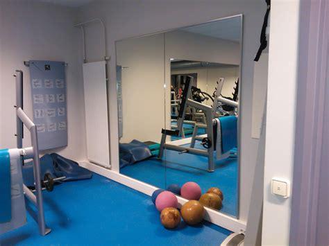 miroir et sport salle de sport