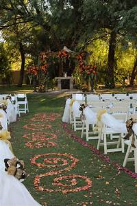 The ceremony and reception will be held at The Secret Gardens.