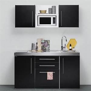 Miniküche Mit Geschirrspüler : kompakte minik che mit mikrowelle geschirrsp ler und k hlschrank a 160 cm breit ~ Markanthonyermac.com Haus und Dekorationen