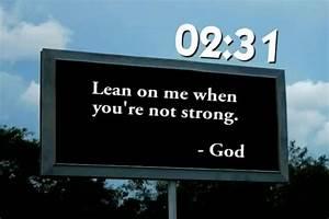 God Billboard Quotes on QuotesTopics