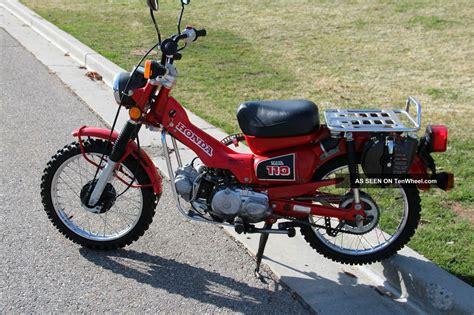 1986 Honda Ct Trail 110, Hi / Low Transmission