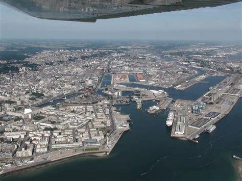 port du havre vue a 233 rienne de l entr 233 e le havre patrimonial