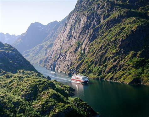 Fjord Cruise Norway by Hurtigruten Cruises Norwegian Coast Fjord Travel Norway