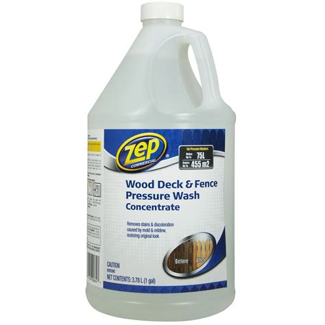Lowes Canada Deck Cleaner zep commercial 3 78 ml deck and fence cleaner lowe s canada