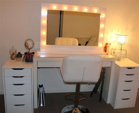 vanity table with lighted mirror photos designs and bedroom sets interalle