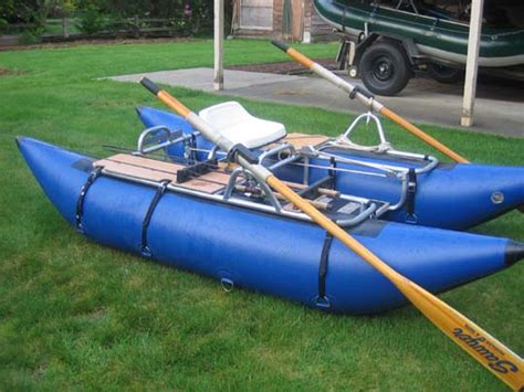 Inflatable Pontoon Boat Modifications by Small Inflatable Pontoon Boats Advice Needed Fly