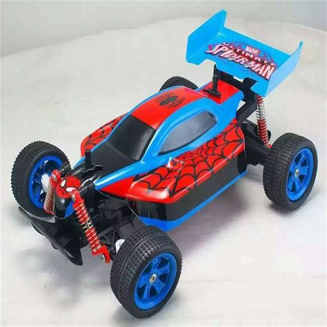 Spider Man Speed Boat by High Speed Spider Man Remote Control Cars 2 4ghz Rc Car