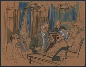 Courtroom sketches from infamous trials get a new exhibit ...