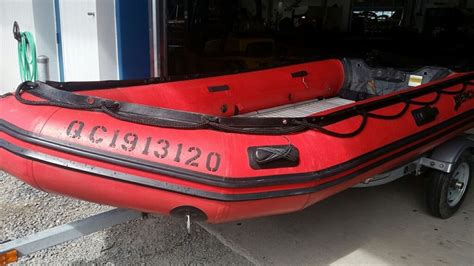 Inflatable Boats Quebec by Mercury Inflatables 380 Heavy Duty 2009 Used Boat For Sale