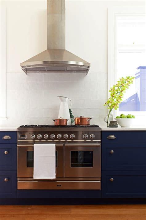 Blue Glass Tile Backsplash  Cottage  Kitchen  Bhg