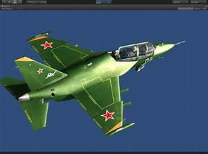 3D model Yakovlev Yak-130 trainer military jet | CGTrader