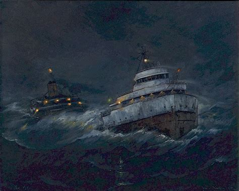 the edmund fitzgerald this ship sank in lake superior on november 10 1975 ghost ships