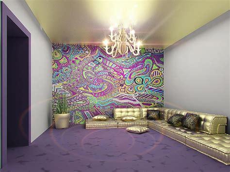 design int 233 rieur inspir 233 par des murs aux dessins cr 233 atifs design feria