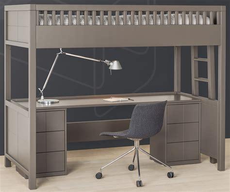 lit mezzanine quarr 233 avec bureau rabattable