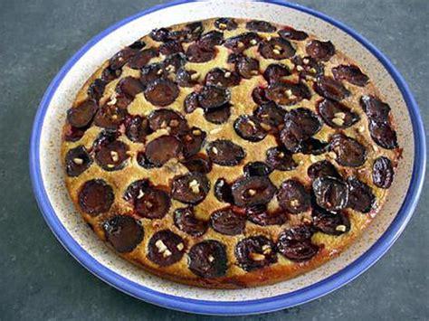 recette de gateau aux prunes et pate d amande par christi90