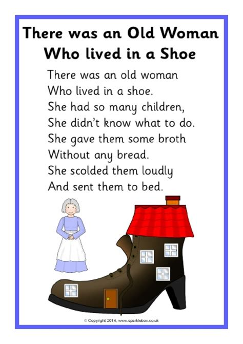 Row Row Row Your Boat Lyrics Polar Bear by There Was An Old Woman Who Lived In A Shoe Sb10896