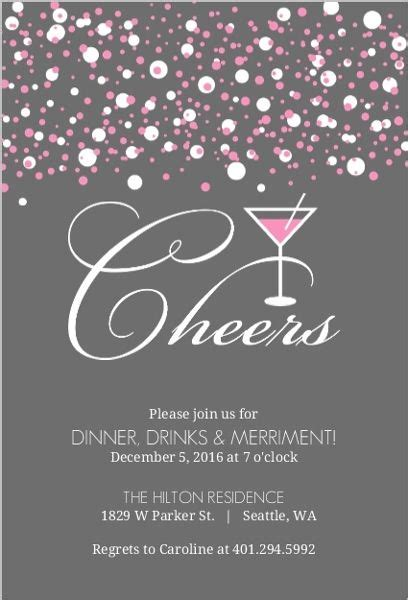 25+ Best Ideas About Cocktail Party Invitation On