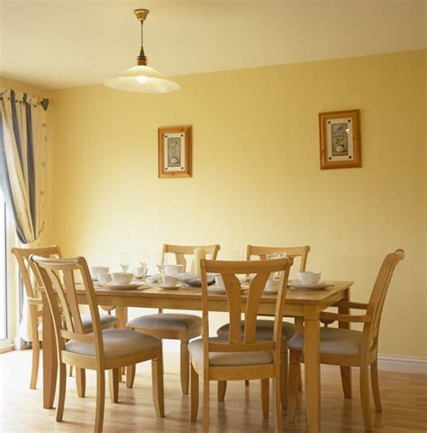 Yellow Dining Room  Large And Beautiful Photos Photo To